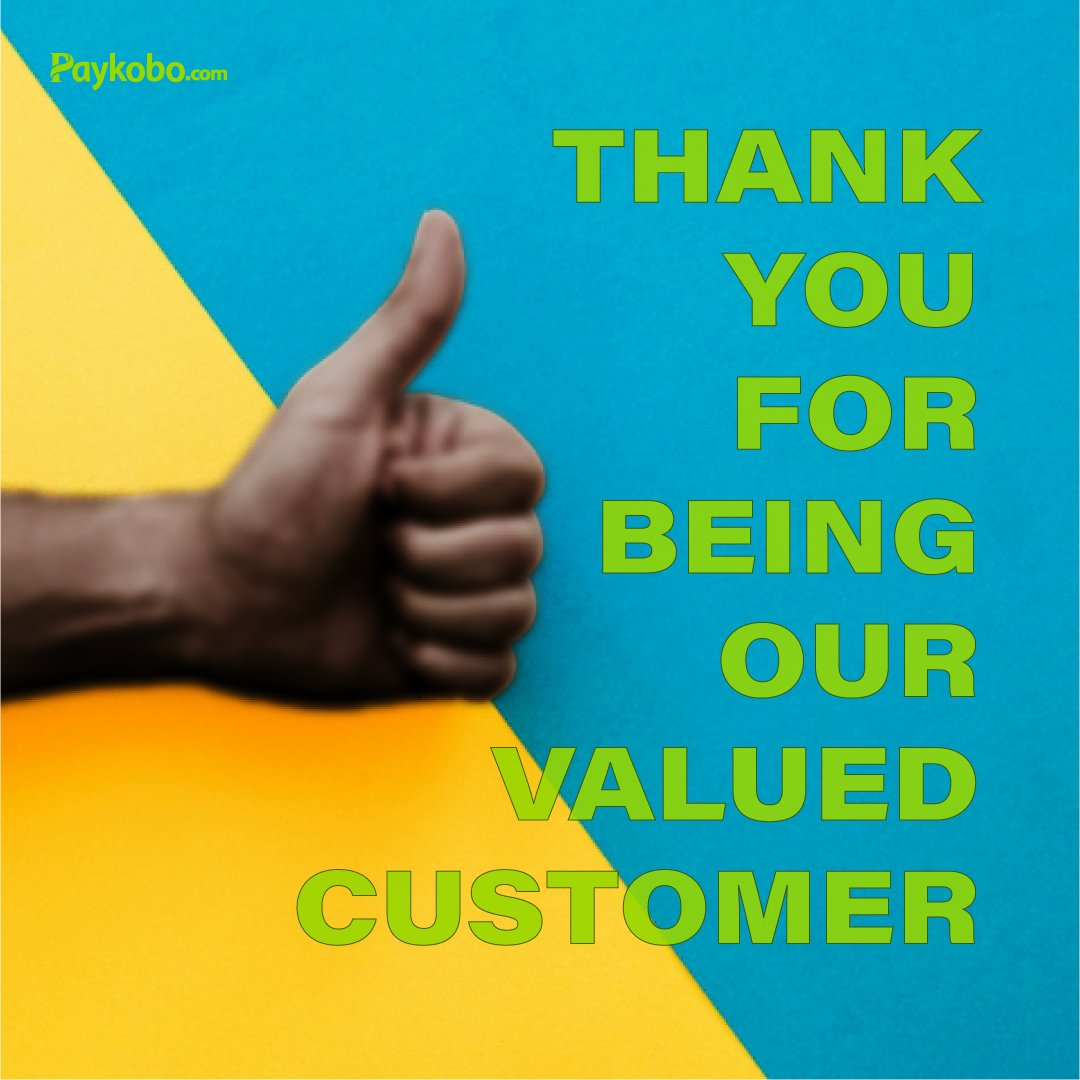 Thank you for being our valued customerpic.twitter.com/AXZmLImSJw