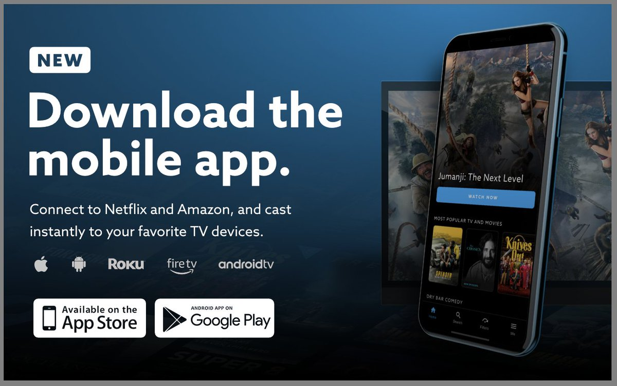 """VidAngel on Twitter: """"If you haven't done it yet, make sure you get the latest VidAngel app on iOS and Android! ✓Best way to connect to Amazon and Netflix ✓Instantly cast to"""