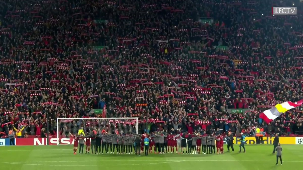 We stand together ❤️ You'll Never Walk Alone.