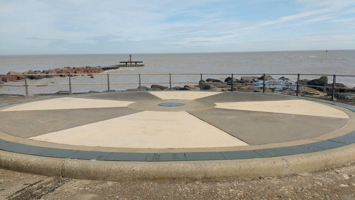 Starting at #Gorleston-on-Sea, crossing the border of #Norfolk into #Suffolk, finishing at #Kessingland.     #nationaltrails #visitbritain #searchandrescue #uksar #ramblers #walking #charitywalk #charitycoastalwalk #BethFootForward