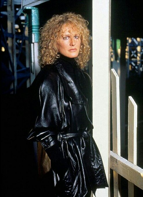 Happy Birthday to Glenn Close who turns 73 today! Pictured here in Fatal Attraction (1987).