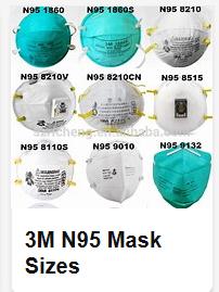 n95 mask 9132
