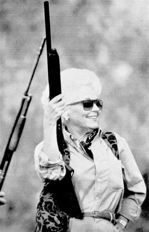 I just.....I just really love Former Texas Governor Ann Richards.