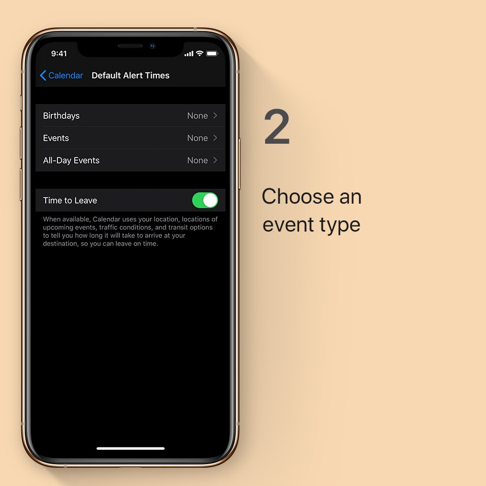 Step 2: Choose an event type