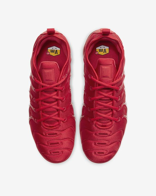 Ad: Nike Air VaporMax Plus 'Triple Red' on sale for $159.97 + FREE shipping => https://t.co/LWqpsRNdFI https://t.co/IaZWWrQclW
