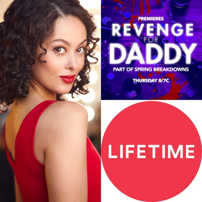 Tonight in the Lifetime Movie Network, Tune in at 8pm! ❤️💜 https://t.co/intptAkTB4