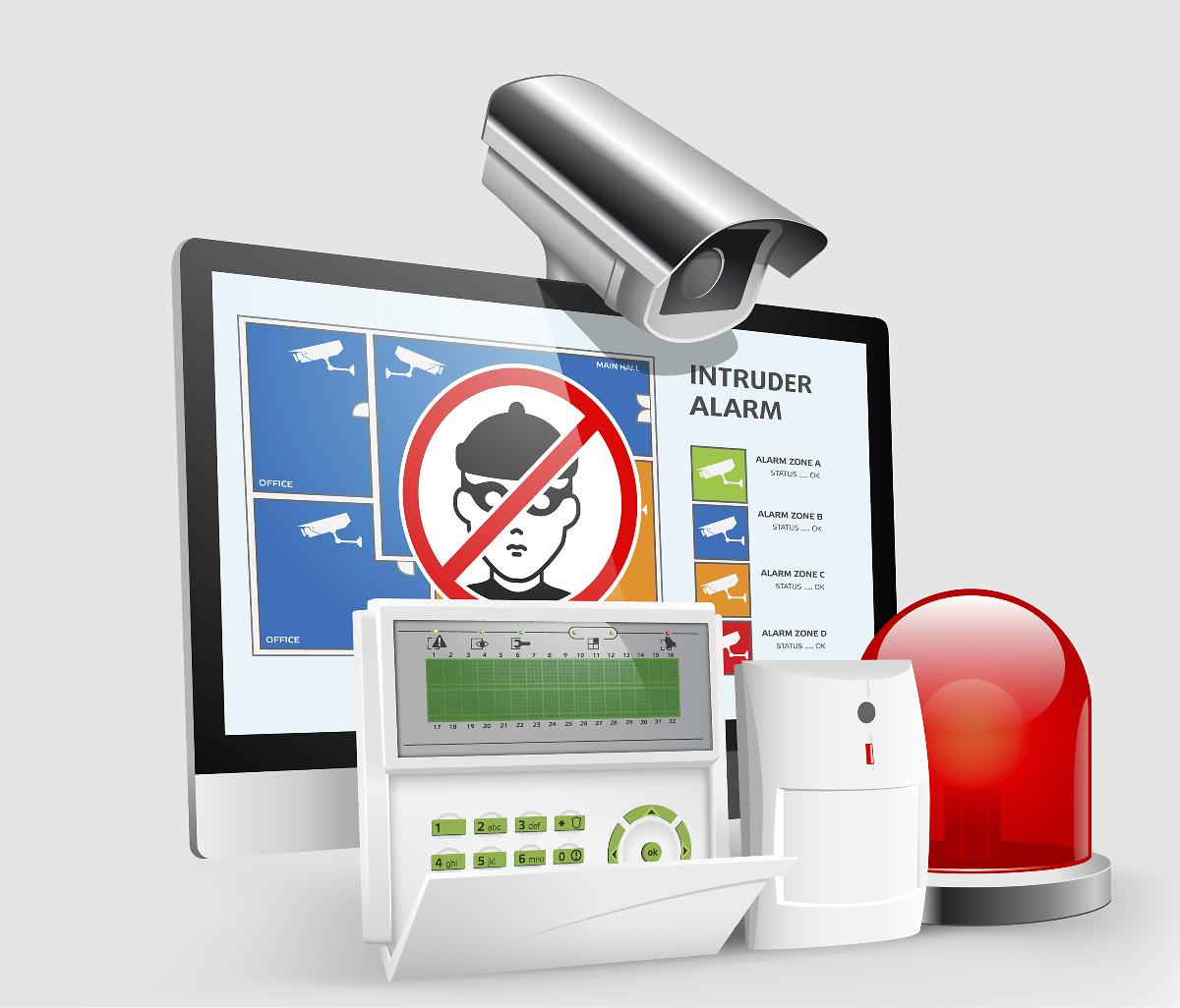 systèmes de sécurité alarme maison