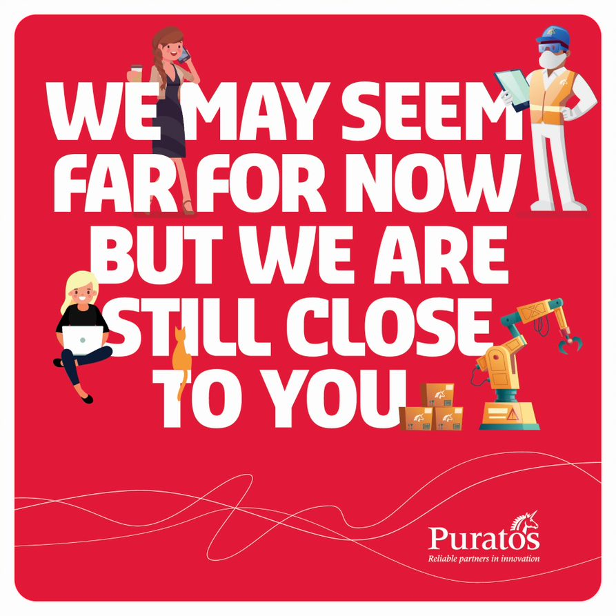 The current situation may be challenging but all Puratos colleagues are there to help you, our customers and business partners. Although a bit further now, we remain close to you. https://t.co/r8qBc8Alzk