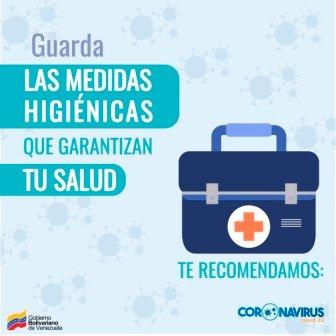 En Venezuela se está fortaleciendo el sistema de vigilancia epidemiológica y se han ampliado en las últimas semanas los controles en prevención del coronavirus. ¡Prevenir es tarea de todos!