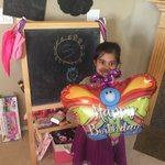 Image for the Tweet beginning: Ahana turns 5 with Coronavirus