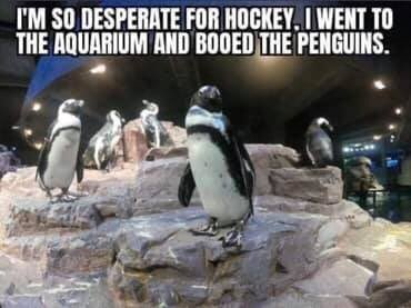 Penguins vs Rangers
