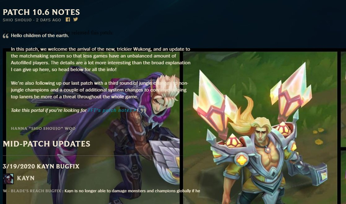 euw tft patch notes