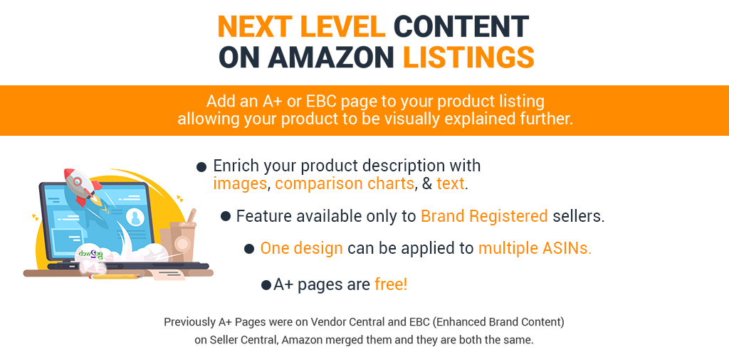 #Amazon has united Vendor Central A+ & Seller Central Enhanced Brand Content all under the same name helping to bring the Seller Central and Vendor Central functionality closer together. Are you using A+ Content in your Amazon listings?  https://t.co/Mw4rLscu7C #EcommerceSuccess https://t.co/ExRF6G5eHg