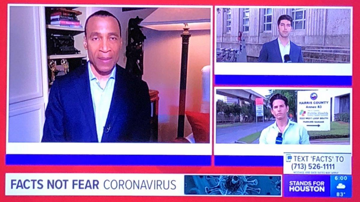 Looks like @lencannonKHOU is anchoring @KHOU at 6:00 from home #SocialDistancing #coronavirus #khou11 #FactsNotFear