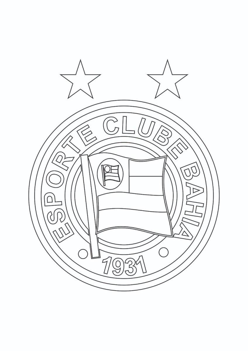 Esporte Clube Bahia On Twitter Pra Distrair Os Pequenos Nestes Tempos De Quarentena Ou Nao So Eles Fizemos Desenhos Pra Colorir E So Imprimir Ou Usar Aplicativos De Desenho E