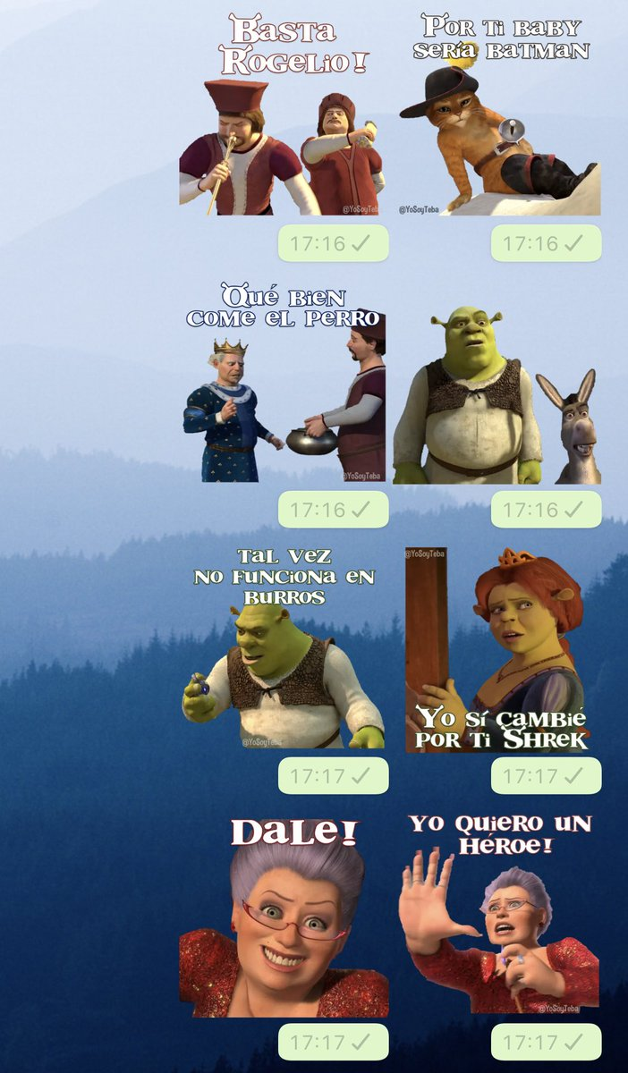 𝑙𝑖𝑐 𝐸𝑠𝑡𝑒𝑏𝑎𝑛𝑑𝑖𝑑𝑜 On Twitter Que Onda Mi Gente En Cuarentena Hice 60 Stickers De Shrek 2 Los Estare Pasando Manana Para Los Que Me Siguen Porque Hoy Ando Ocupado Pero Dejen Su
