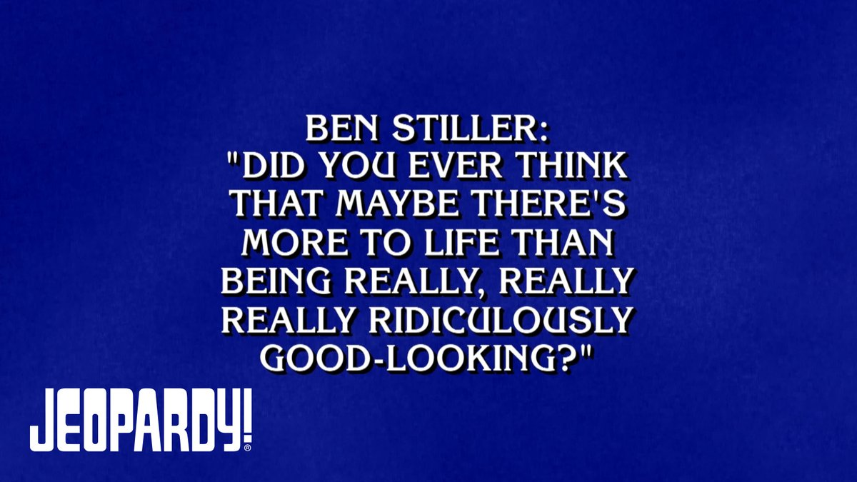 No doubt Alex has asked himself the very same question. @RedHourBen #TodayOnJ!