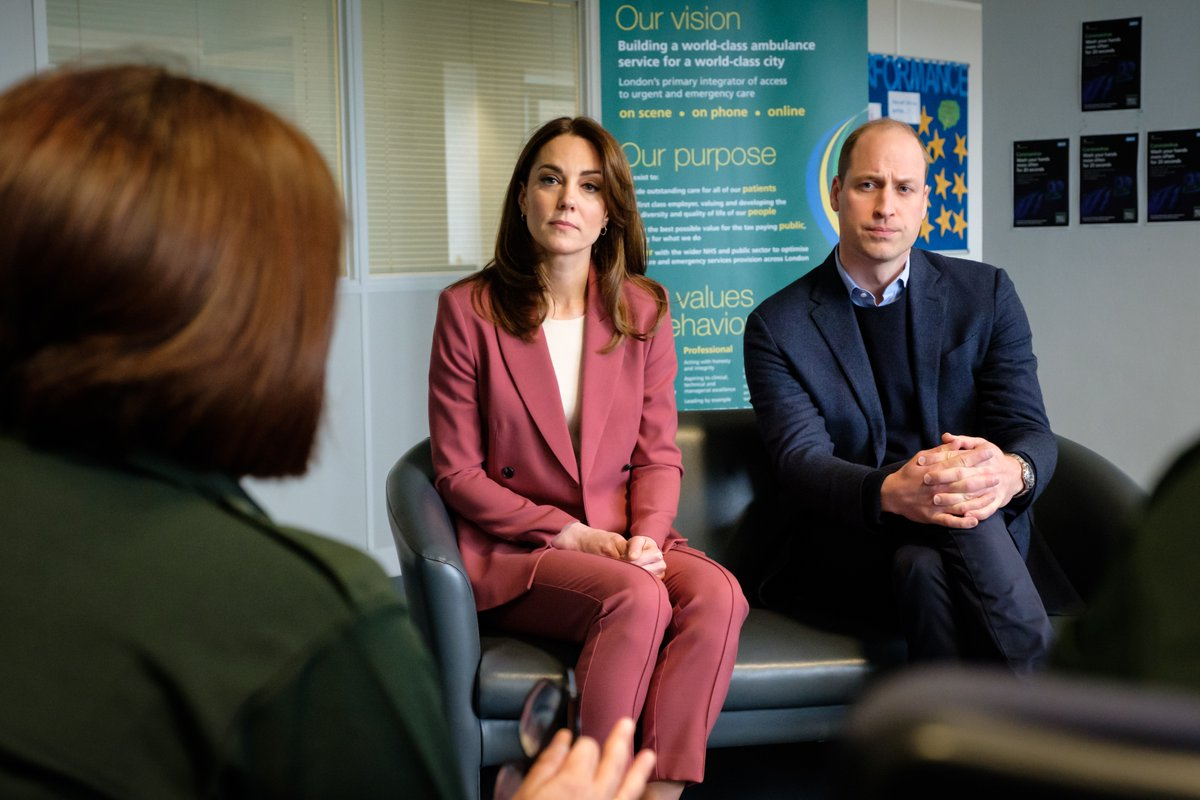 The last few weeks, and more recent days have been understandably concerning with the continuing spread of coronavirus. But it's at times like this when we realise just how much the NHS represents the very best of our country and society. — The Duke of Cambridge #NHSthankyou