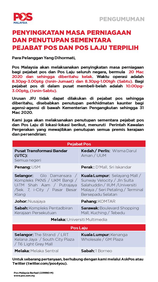 Pos Malaysia Berhad On Twitter Hi Fannetasysep9 We Apologise