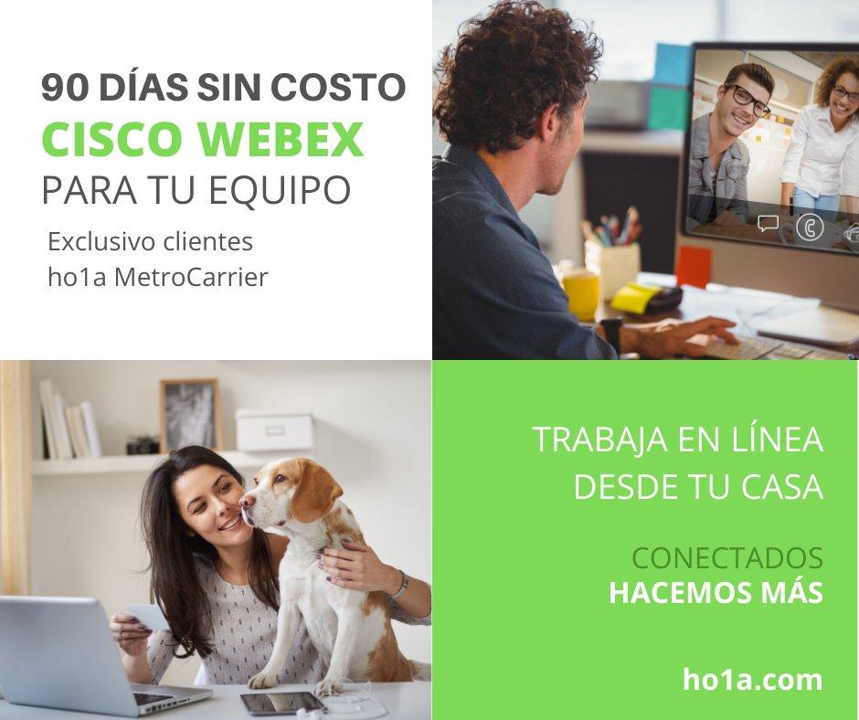 En ho1a, conscientes del panorama actual ante el fuerte crecimiento del virus COVID19 en México, ponemos a disposición de todos nuestros clientes, herramientas de colaboración remota sin costo ni compromiso. Activa tu licencia en este enlace: bit.ly/2xdWBaZ