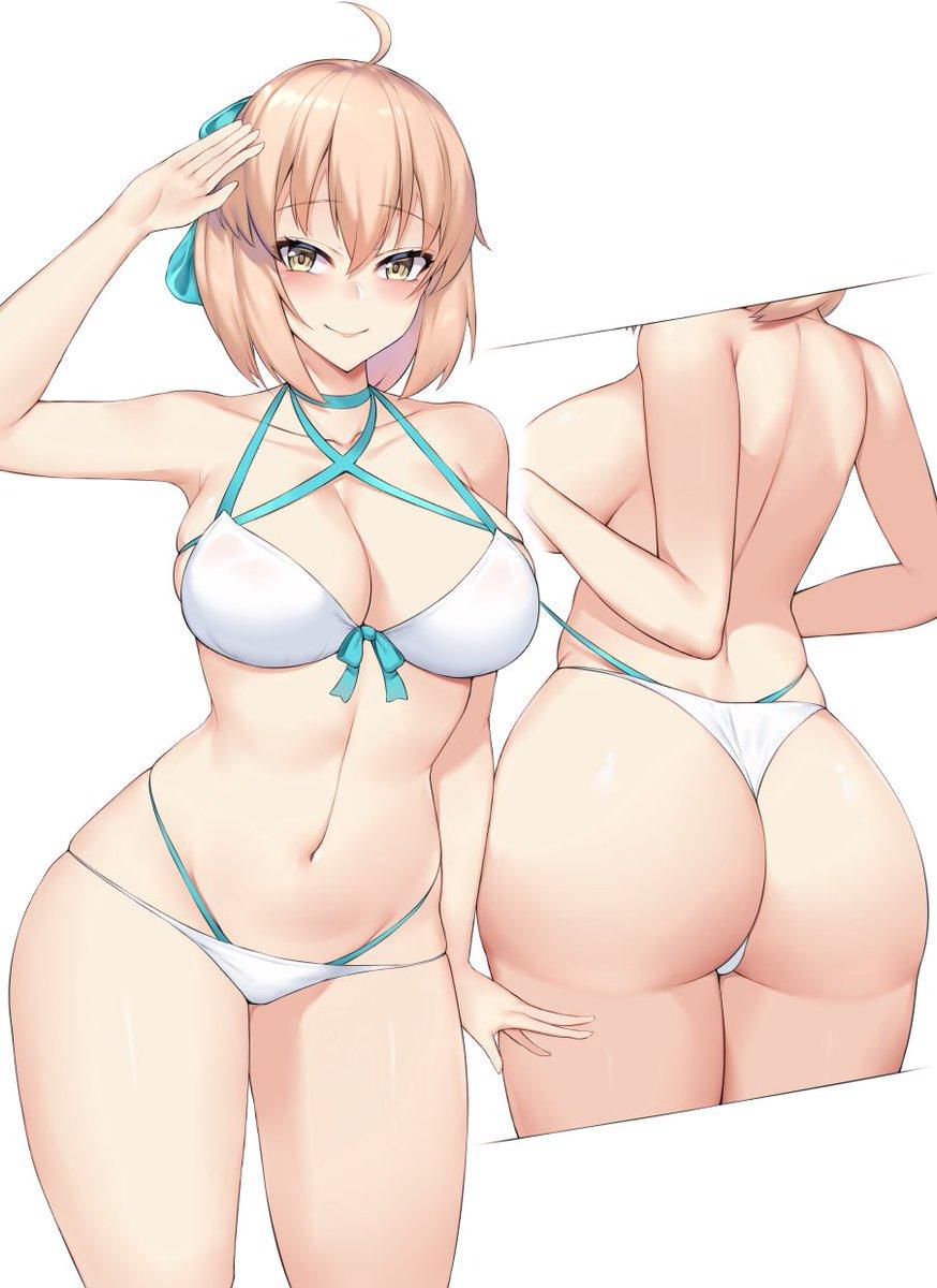 Booty anime girl Anime Ass