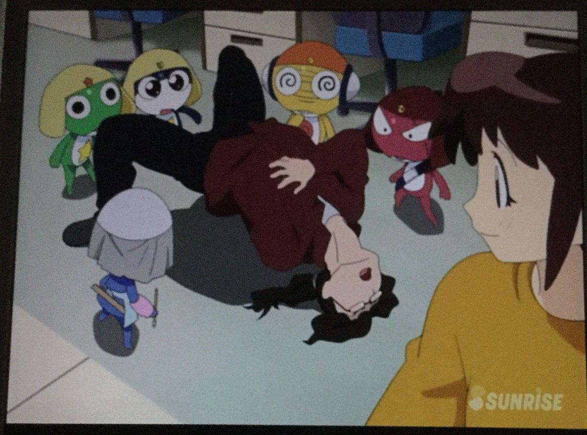 test ツイッターメディア - ケロロ小隊がアニメ作りにチャレンジする話。アニメを楽しむケロロ小隊が微笑ましい。アニメってこんな風に作るんだってわかる。アニメ制作現場にも潜入。完成したアニメは必見です。 #ケロロ三昧ケロロ軍曹 1stシーズン 第33話| バンダイチャンネル https://t.co/5rmzMAOly9 #bchanime https://t.co/qQq3EiMxa1