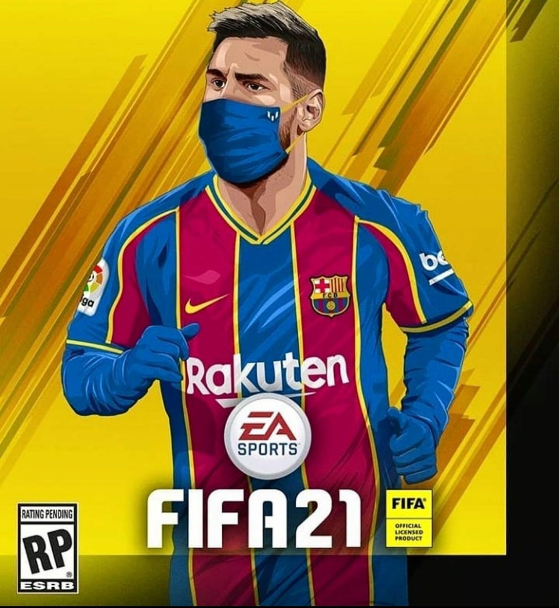 Barca Worldwide On Twitter How About This For Fifa 21 Cover