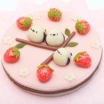 北海道の和菓子屋さんが作ったケーキが癒されまくる!?シマエナガのねりきりの和菓子ケーキが可愛すぎるw