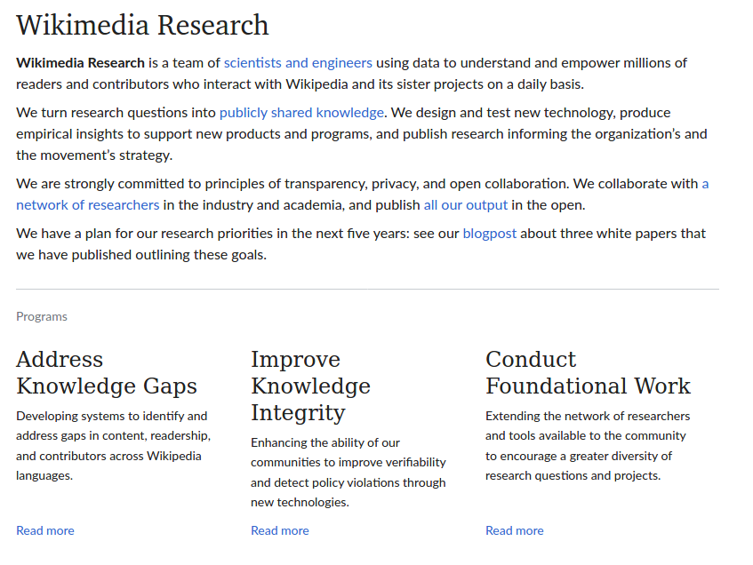 Wikiresearch On Twitter Join Wikimedia Research And Analytics Team For Their Analytics Research Office Hours Next Wed 2020 03 25 At 5pm Utc Bring Your Research Questions And Discuss Projects Data Analysis And More To