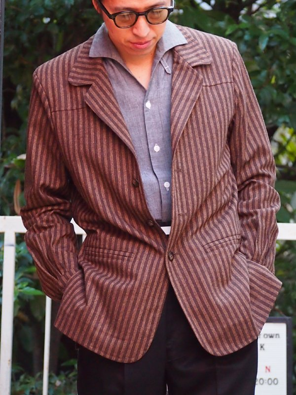 Lot.866 Capistrano Elvis-Stripe  http://706union.shop-pro.jp/?pid=140363688  #706union  #50sstyleclothing  #elvispresley  #ナッソージャケット  #エルビスプレスリー  #フィフティーズファッション #ロカビリーファッション #ハリウッドジャケット #ロカビリー #madeinjapan  #下北沢pic.twitter.com/G71dEoXpw6
