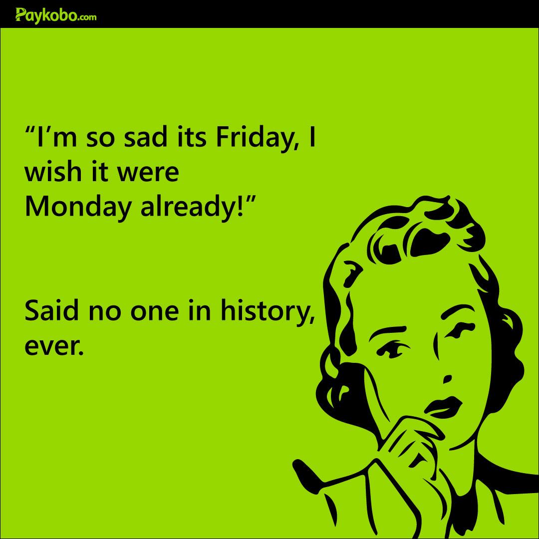 Ahhh, the weekend ... #fridaythoughts #tgif #weekendvibes #weekendgetawaypic.twitter.com/tQAQ0JbLIX