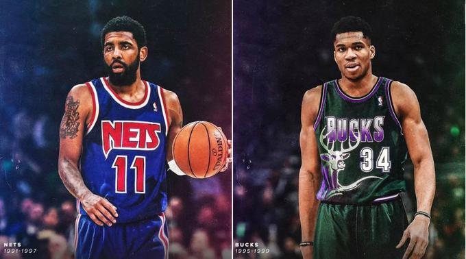 NBA最好看5件經典球衣:公牛球衣上榜,老大穿20年紫金戰袍排第一!