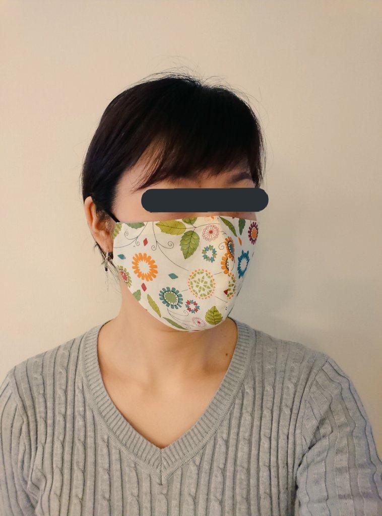 りこ マスク は お 立体