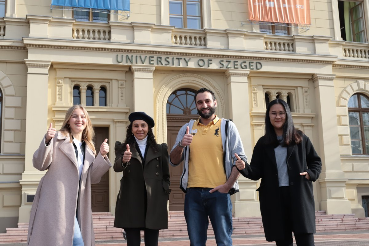 Join the University of Szeged and meet people from all over the world🗺️ Apply to the University of Szeged and Be Part of one of the First European University Alliances🇪🇺 Apply now ‼️   #SZTE #UniversityofSzeged #SZTEinternational #DreamApply  Bobkó Anna 📸