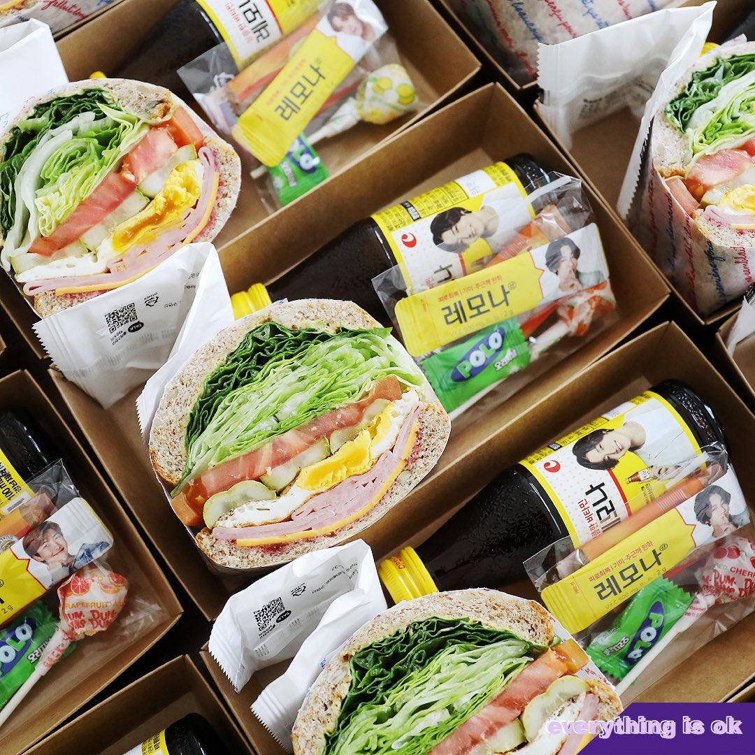 Bikin BTS Bangga! ARMY di Korea Sumbang 240 Sandwich dan Vitamin C ke Tenaga Kesehatan yang Menangani Pasien COVID-19 di Daegu (c) Big Hit Entertainment