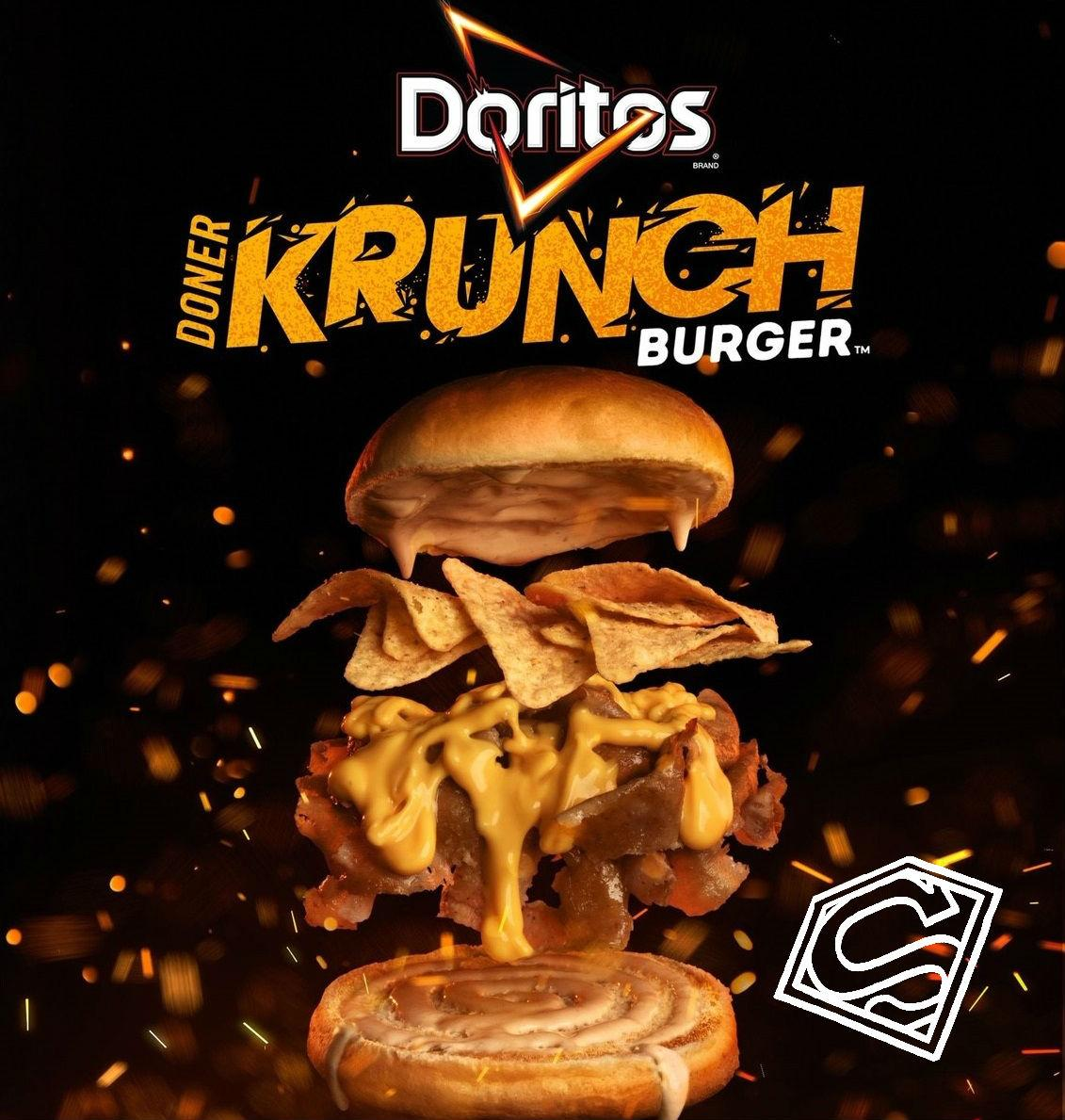 Get crunching with the new mouth watering Doritos Doner Krunch burger now at GDK. 🍔
