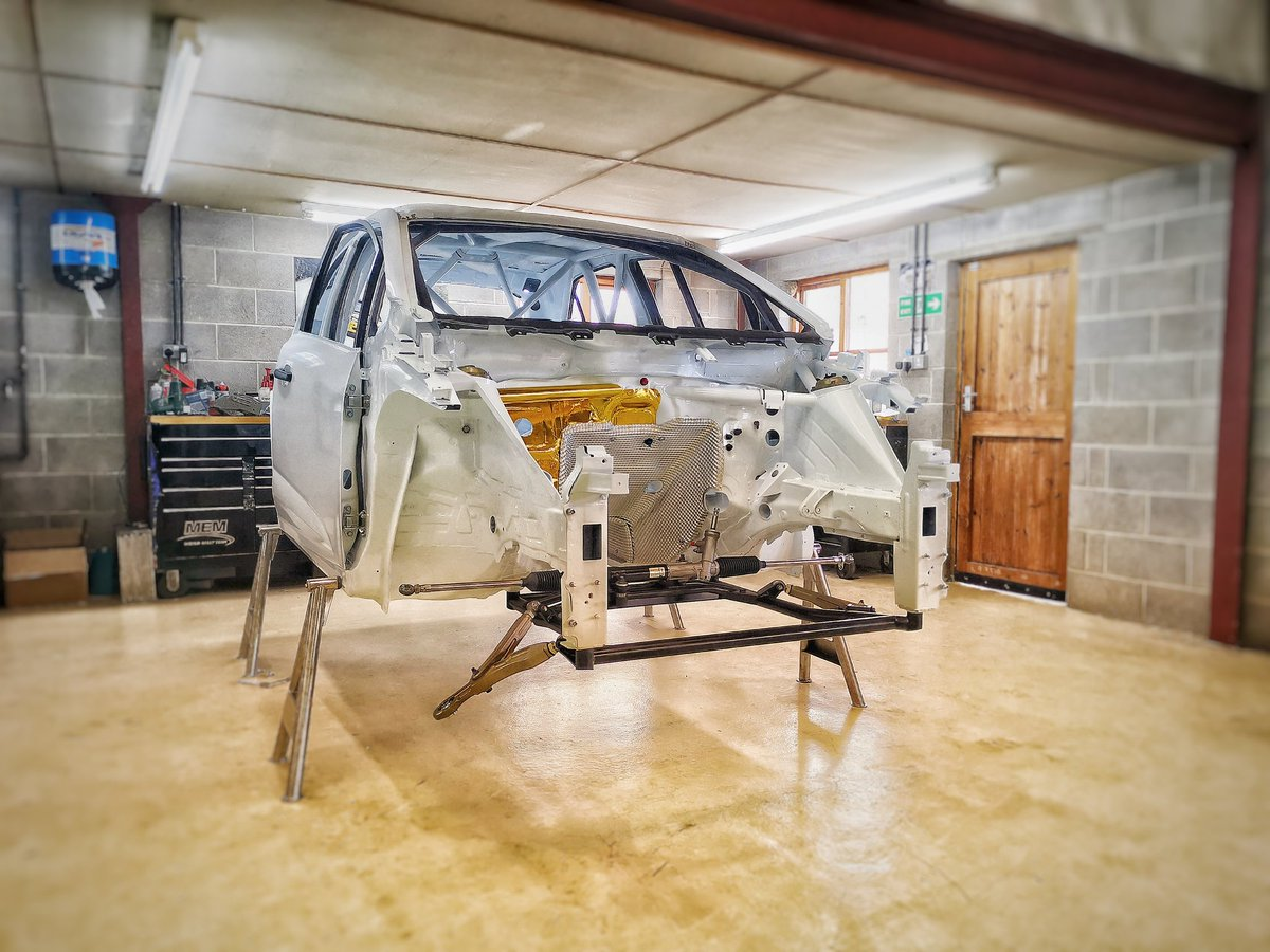 MEM continue our expansion to begin the build of yet another @ProtonCars #Iriz #R5.  We are proud to be the only manufacturer who can offer both right & left hand drive versions which are homologated by the @fia.  Tag a mate who needs an Iriz R5 in their lives 👇😆 #BRC #ERC #WRC
