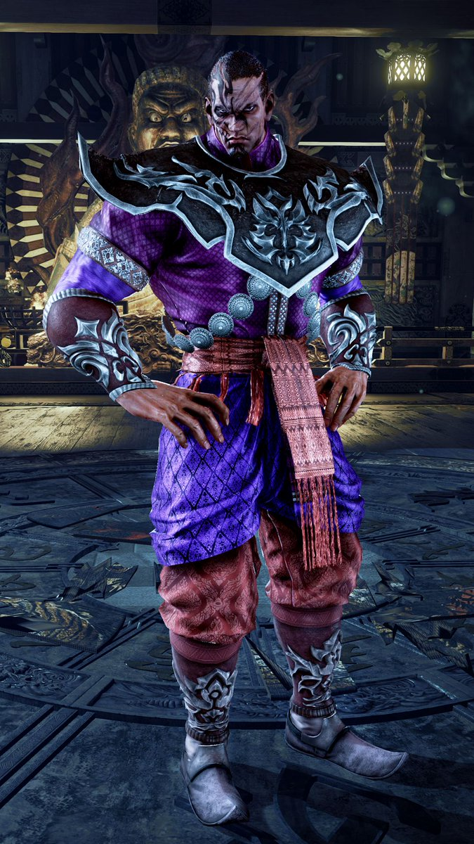 Yellowmotion On Twitter Fahkumram S Default Outfit New Gameplay Screenshots Of Tekken7 Fahkumram 1 3