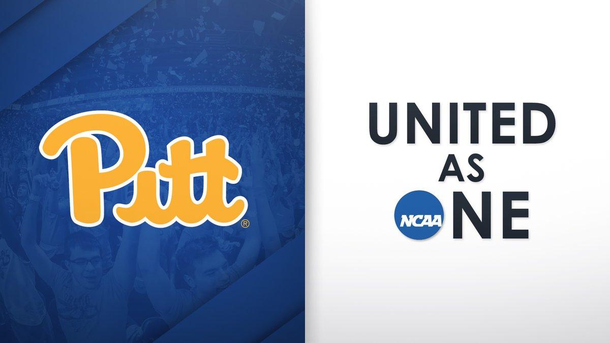 The Pitt Panthers #HailAsOne and are #UnitedAsOne.