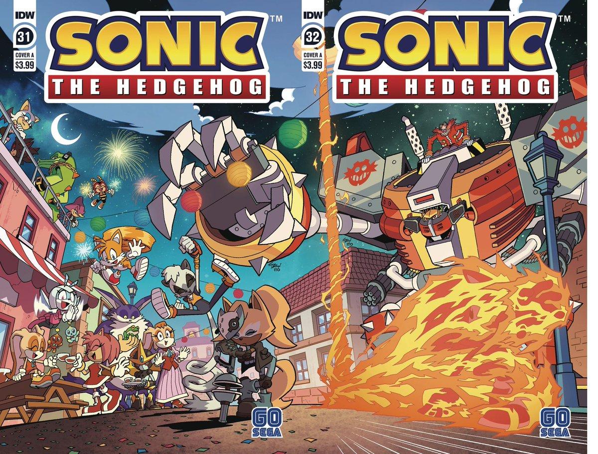 Idwsonicnews Idw Sonic Covers Previews On Twitter Sonic The Hedgehog 32 Cover A By Yardleyart Sonic Sonicthehedgehog Idwsonic
