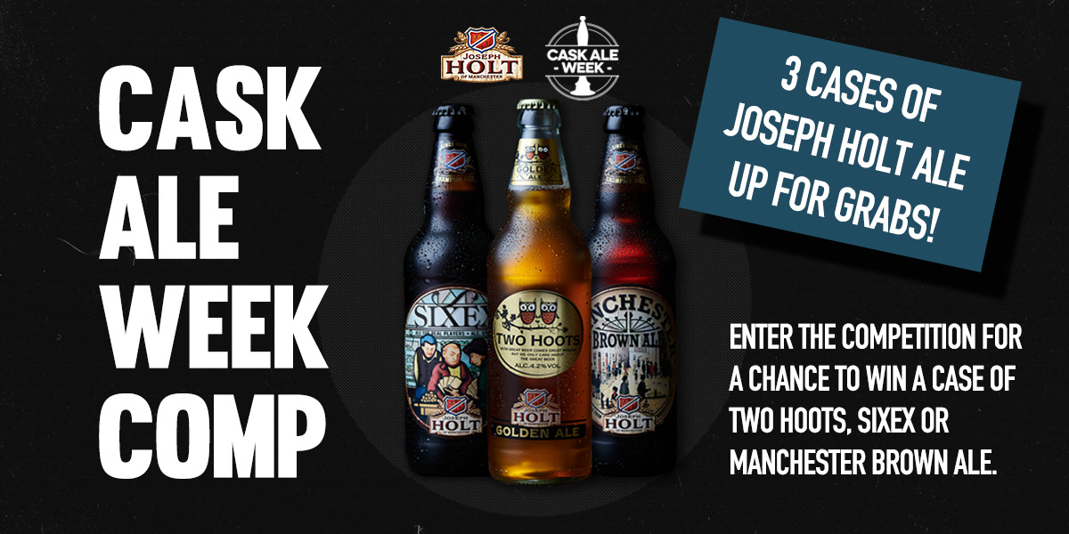 LAST CHANCE! To enter our #beer competition with the brilliant @JosephHolt1849 ! 3 lucky individuals could get their hands on a case of Sixex or Two Hoots or Manchester Brown Ale. Follow us and Retweet & Like this post to enter. But hurry! Winners announced tomorrow! #win pic.twitter.com/u8x9hfCMib