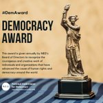 Image for the Tweet beginning: National Endowment for Democracy will