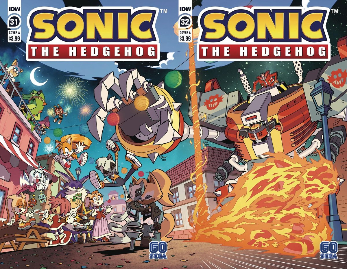 Idwsonicnews On Twitter Sonic The Hedgehog 31 32 Cover A S Put Together Make This 31 Comes Out June 10 2020 32 Comes Out June 24 2020 Sonic Sonicthehedgehog Idwsonic Sonicidw By Yardleyart Leonardoito Https T Co 79xpiprmth