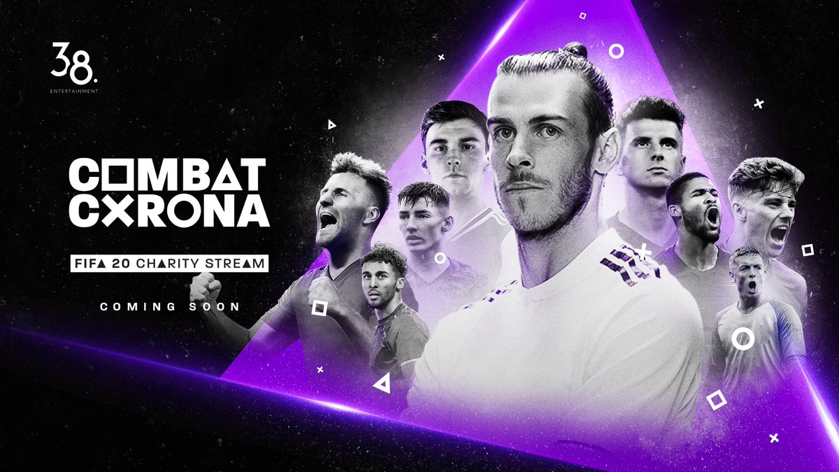 Lets combat #Coronavirus! I'll be streaming FIFA 20 on a charity stream with other professional footballers to raise funds for those in need. Dates to be announced. Follow @CombatCorona for more! Tag which players you want me to play against 🎮🔥 #CombatCorona