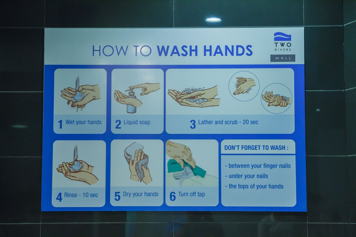 Washing and sanitizing your hands remains the simplest way to prevent the spread of COVID-19. While you shop check out our awareness posters in our washrooms on best handwashing tips #WeCareForYou