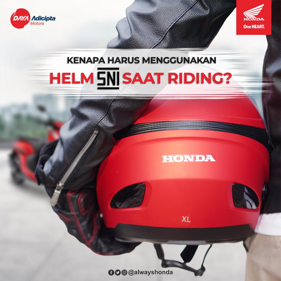 Memang aneh ya brosis jika ada orang yang selalu menolak memakai helm standar dalam mengendai sepeda motor di jalan raya. Padahal helm itu tidak lain dan tidak bukan adalah untuk kebaikan si pengendara sepeda motor itu sendiri.pic.twitter.com/JUQcs3l4yC