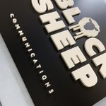 Image for the Tweet beginning: New #signage for #blacksheep #GraphicDesign