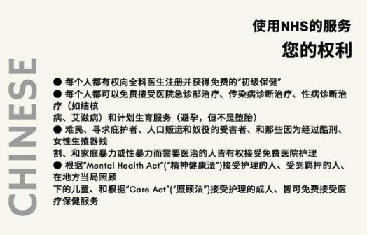 #PatientsNotPassports info Chinese