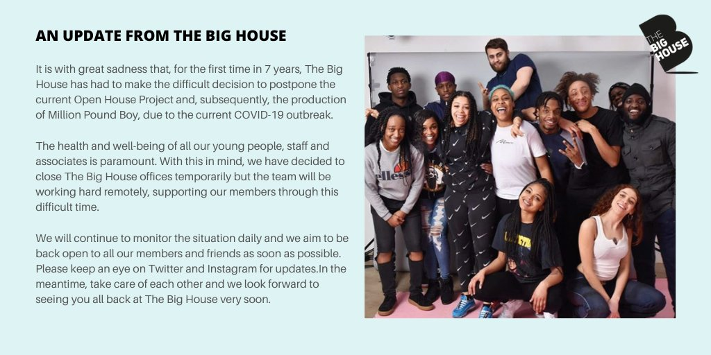A message to The Big House community: