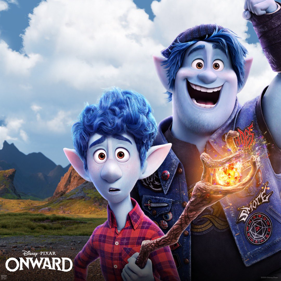 #PixarOnward is coming to the US tonight on digital download and will be streaming on #DisneyPlus on April 3rd. https://t.co/W6TgB4kcAa